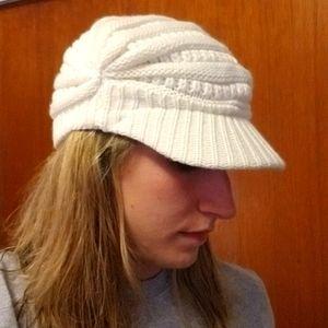 Knit Brimmed Hat
